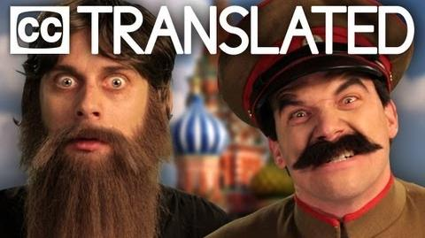 TRANSLATED Rasputin vs Stalin. Epic Rap Battles of History