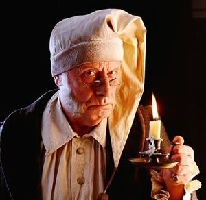 Ebenezer Scrooge Based On