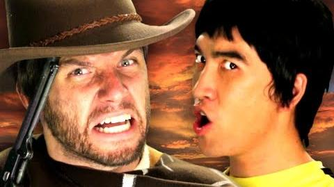 Bruce Lee vs Clint Eastwood. Epic Rap Battles of History Season 2