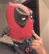 Dragan Radic Deadpool Mask