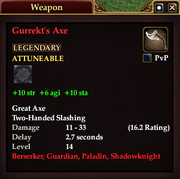 Gurrekt's Axe