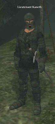 Lieutenant Kaneth
