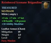 Reinforced Icemane Brigandine
