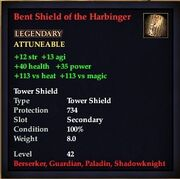 Bent Shield of the Harbinger