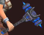 Blessed Hammer of the Priestess (Equipped)