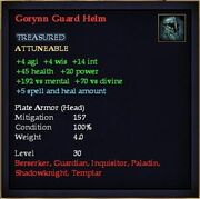 Gorynn Guard Helm