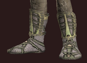 Naturewalker's Leather Boots of the Forestspeaker (Equipped)