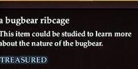 A bugbear ribcage