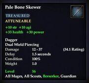 Pale Bone Skewer