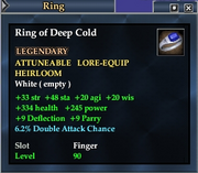 Ring of Deep Cold