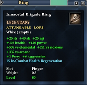 Immortal Brigade Ring