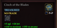 Cinch of the Blades