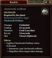 Clockwork owlbear