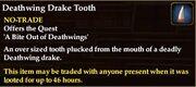Deathwing Drake Tooth