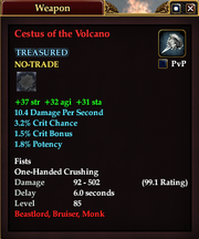 Cestus of the Volcano