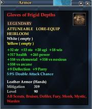 Gloves of Frigid Depths