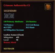 Crimson Aetherstrike Gi