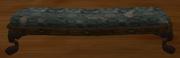 Green damask bench (Visible)