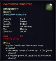 Overclocked Manastone