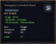 Navigator's Jeweled Band
