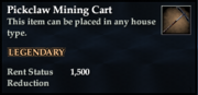 Pickclaw Mining Cart