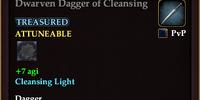 Dwarven Dagger of Cleansing