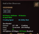 Staff of the Observers