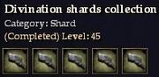 CQ shard divination Journal