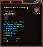 Silken Material Waistwrap