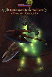 Unbound Elemental Lord