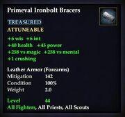 Primeval Ironbolt Bracers