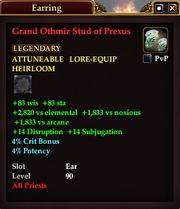 Grand Othmir Stud of Prexus