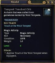 Tempest Touched Orb