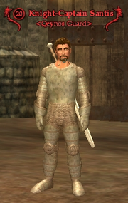 Knight-Captain Santis old
