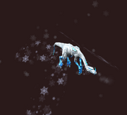 Petamorph Wand Frost Fae Drake (Visible)