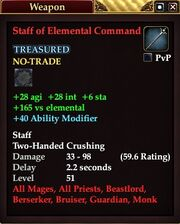 Staff of Elemental Command (52)
