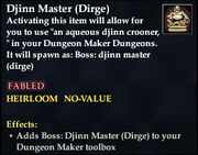 Djinn Master (Dirge)