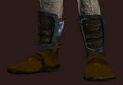 Skullhelm's Fighting Boots (Equipped)