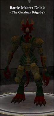 Battle Master Dolak