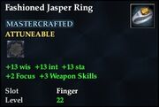 Fashioned Jasper Ring