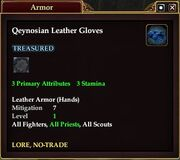 Qeynosian Leather Gloves
