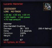 Lucanic Hammer