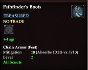 Pathfinder's Boots