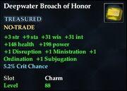 Deepwater Broach of Honor