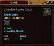 Gnomish Regent Cloak