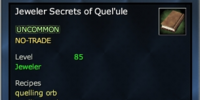 Jeweler Secrets of Quel'ule