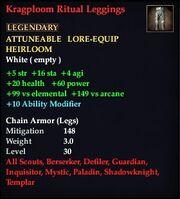 Kragploom Ritual Leggings