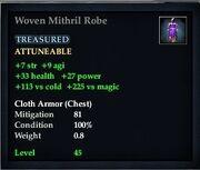 Woven Mithril Robe