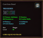 Cast-Iron Band