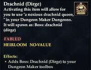 Drachnid (Dirge) - Boss